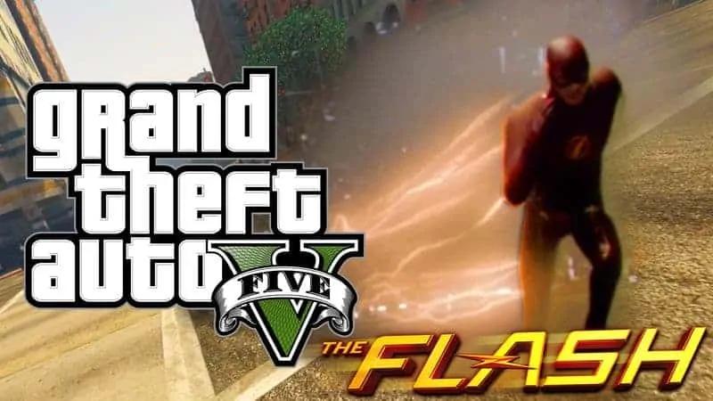 GTA V Getting Flash Mod From JulioNIB - GTA BOOM