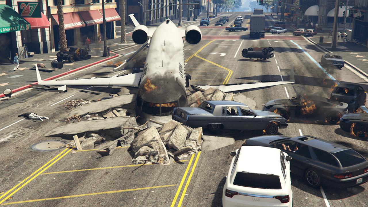 GTA V's Planes Now Crash Dynamically (Mod) - GTA BOOM