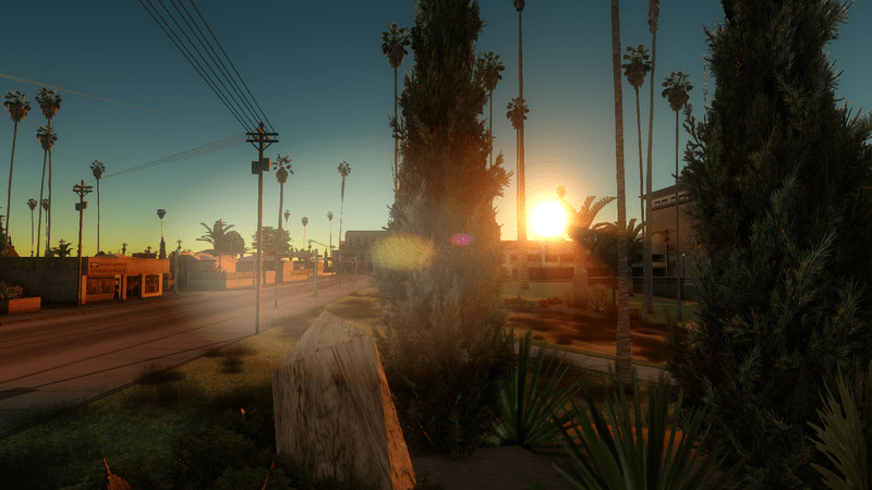 GTA San Andreas Gets New Graphics Mod - GTA BOOM
