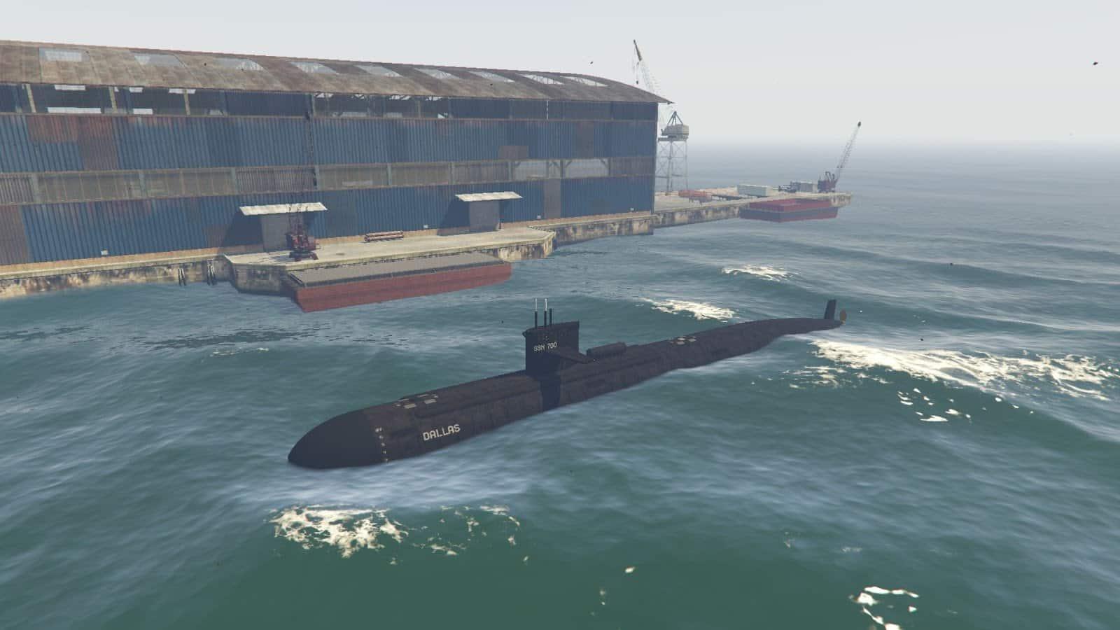 GTA V Gets Military Submarine And Boat (Mod) - GTA BOOM