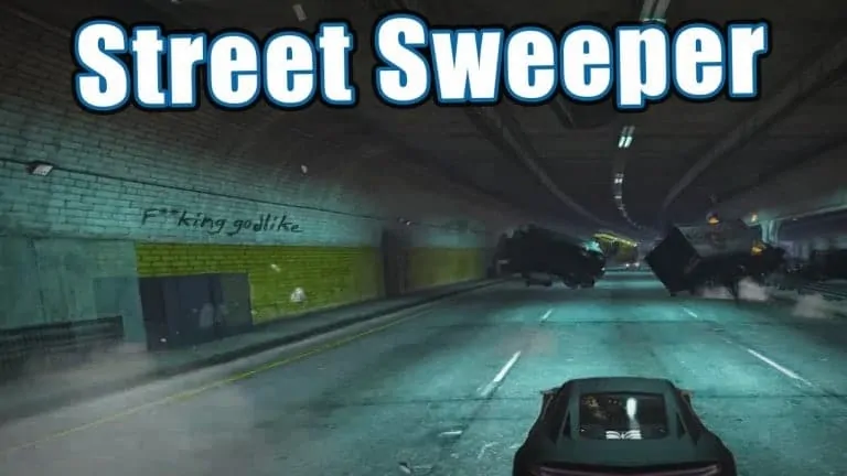 GTA V Mod Gives Street Sweeping New Meaning - GTA BOOM