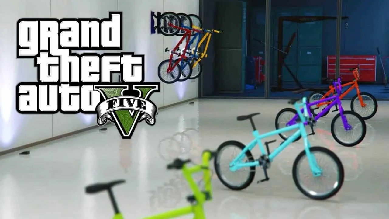Pimp Your GTA Online BMX With Colorful Glitch - GTA 5 Cheats