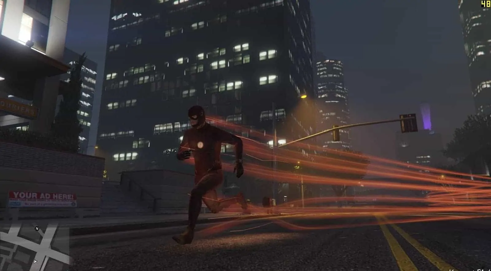 GTA V's Best Flash Mod Released - GTA BOOM