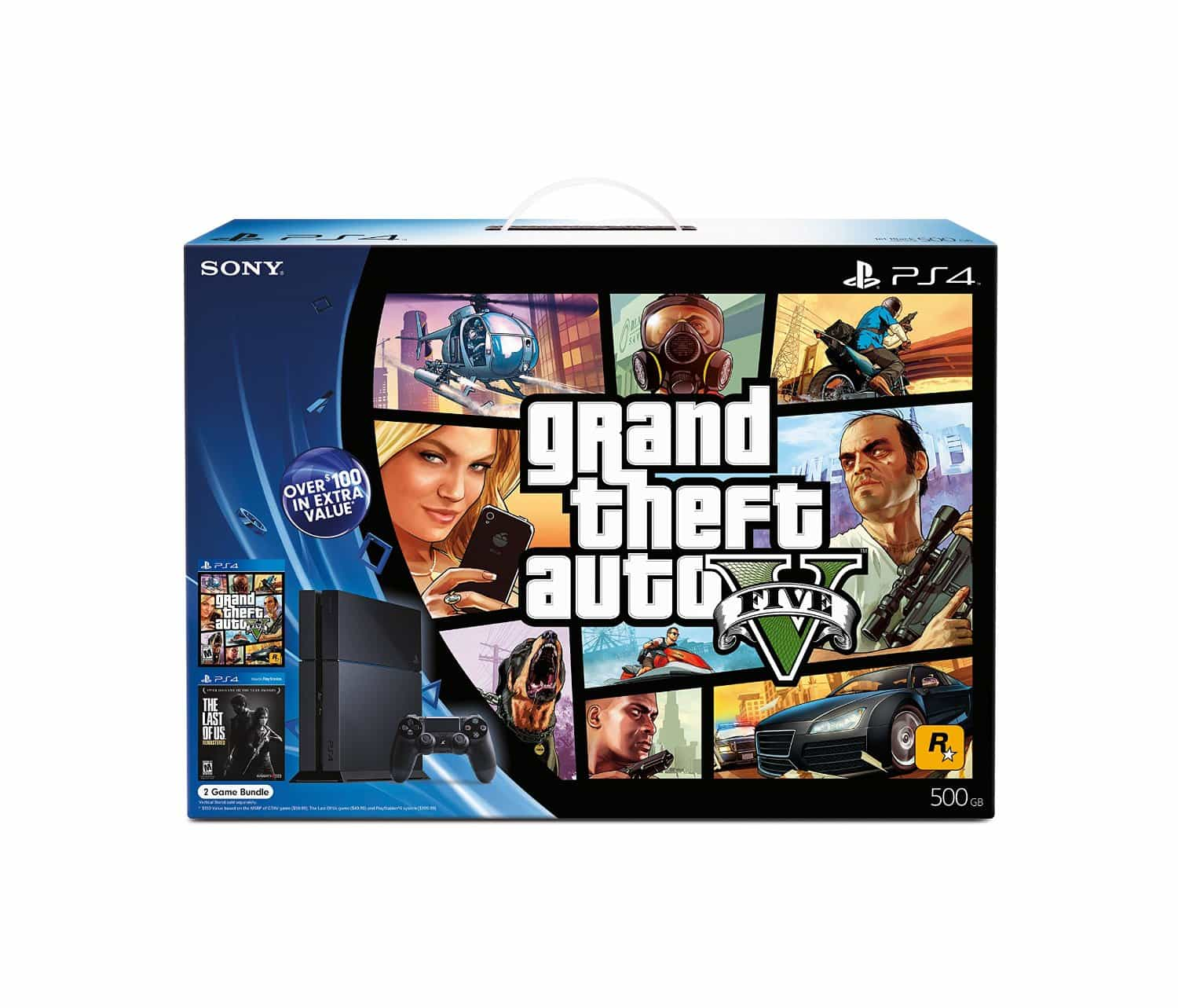 GTA V PS4 Bundle Discounted On Amazon - GTA BOOM