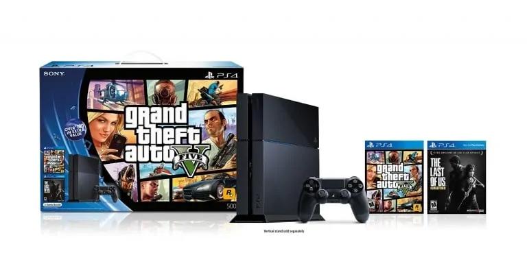 GTA V PS4 Bundle Discounted On Amazon - GTA BOOM
