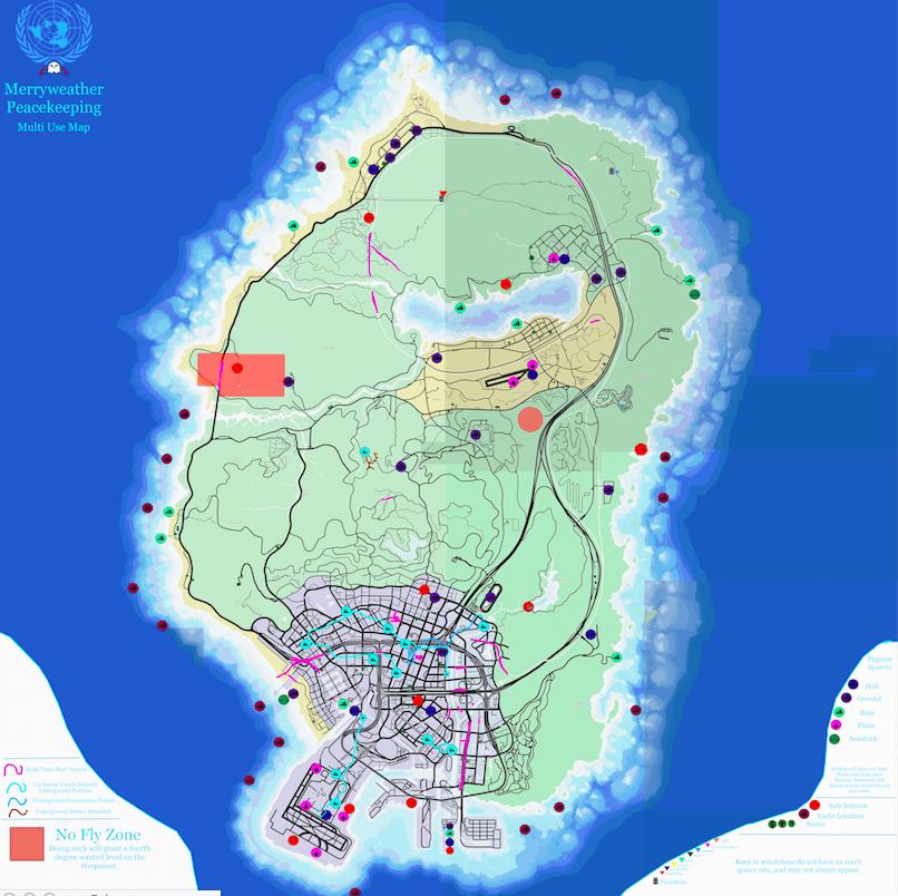 GTA V's Community Maps Serve The Greater Good