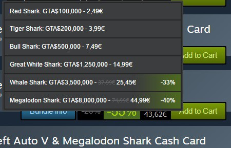 gta shark cards ps4 discount