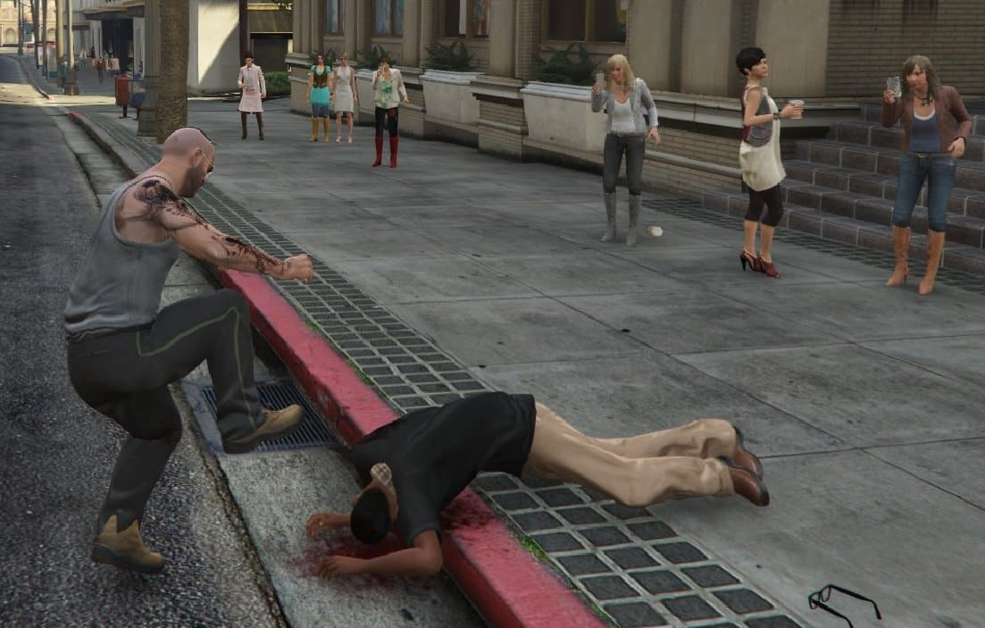 GTA V's PEDs Made More Realistic (Mod) - GTA BOOM