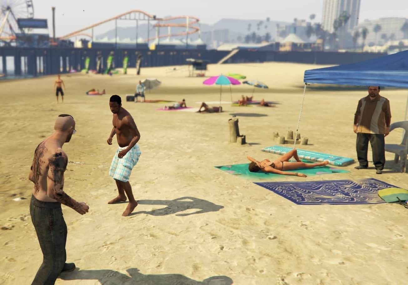 GTA V's PEDs Made More Realistic (Mod) - GTA BOOM