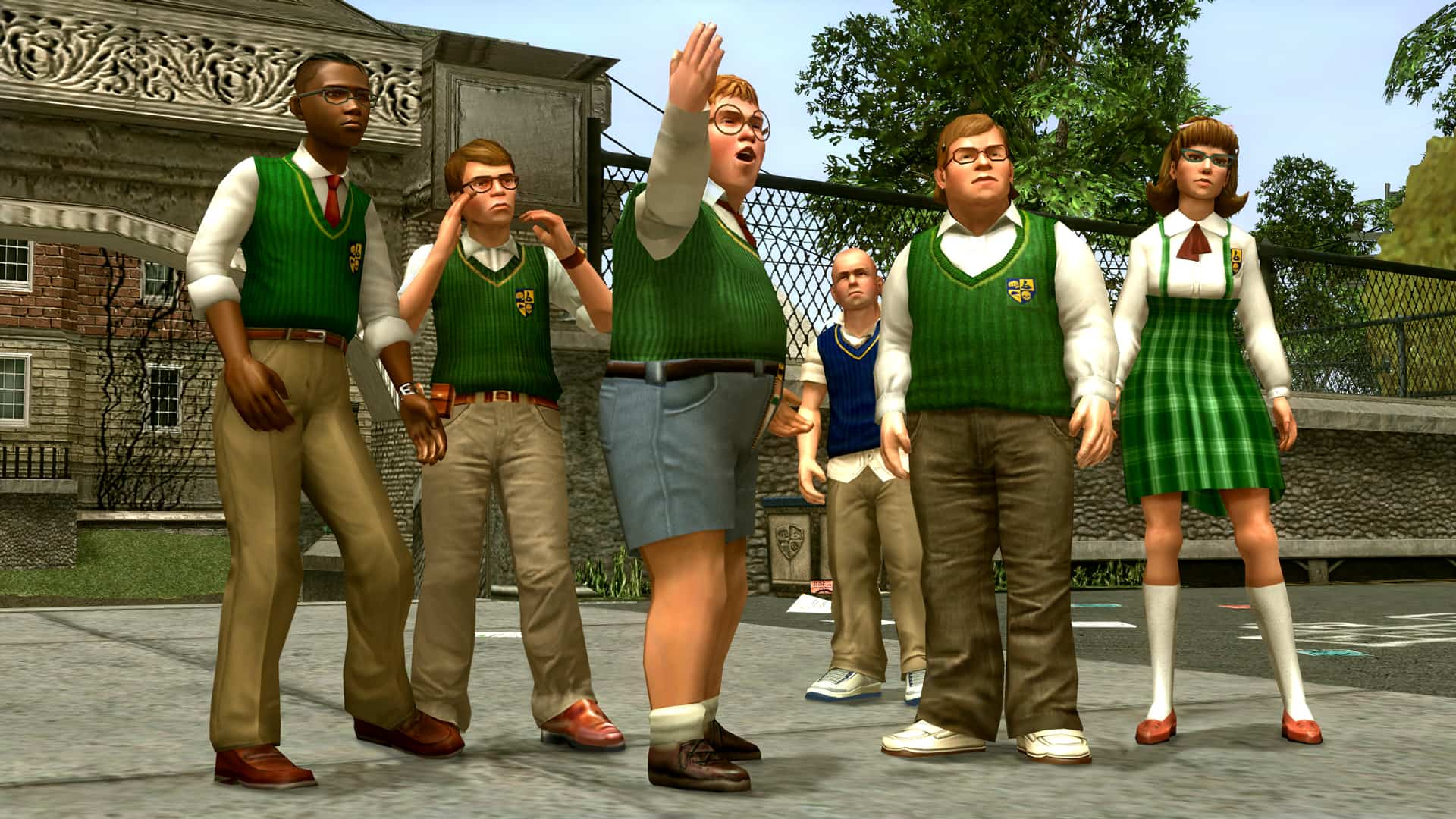 Bully: Anniversary Edition Available On Mobile Devices - GTA