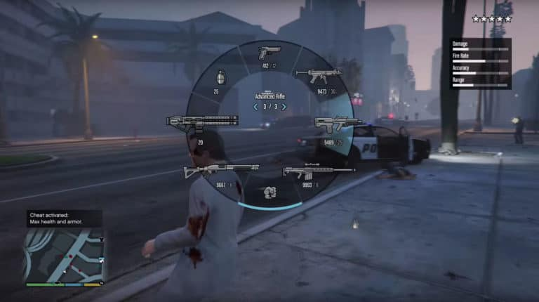 GTA 5 Cheats On PS4 / PS3 - Invincibility, Weapons, Money
