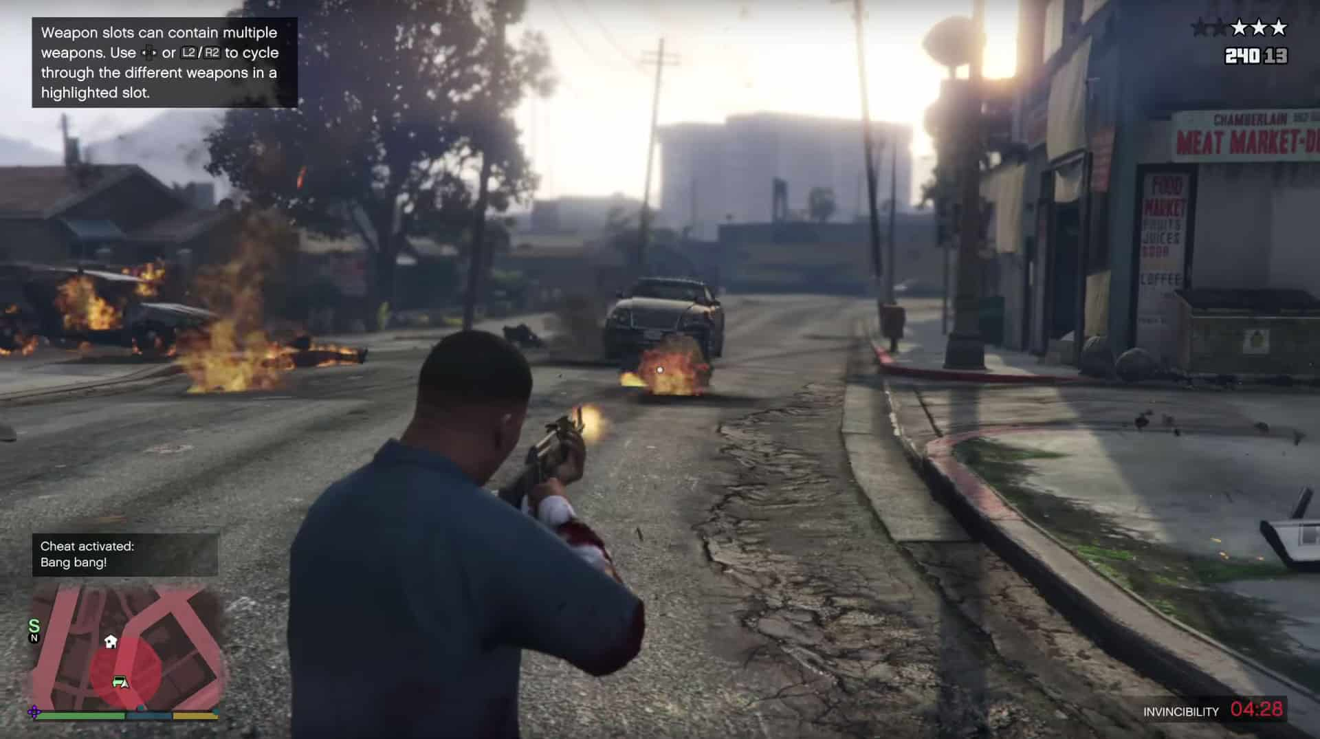 GTA 5 Cheats Xbox One / Xbox 360: Invincibility, Money, Guns - GTA BOOM
