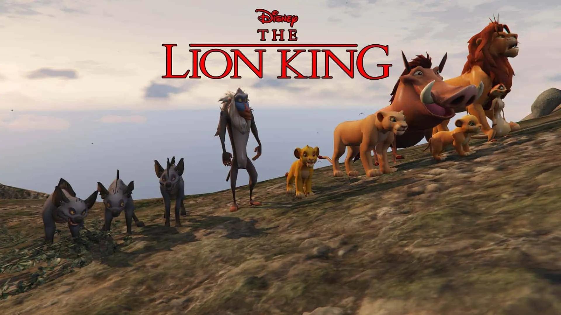 Gta 5 Stock Market Guide >> GTA 5 Meets The Lion King - GTA 5 Cheats