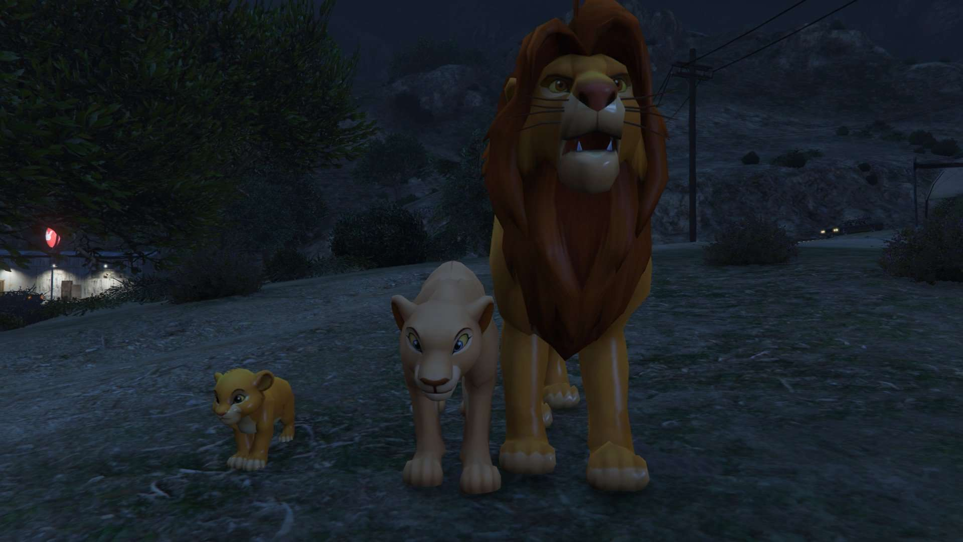 GTA 5 Meets The Lion King - GTA 5 Cheats