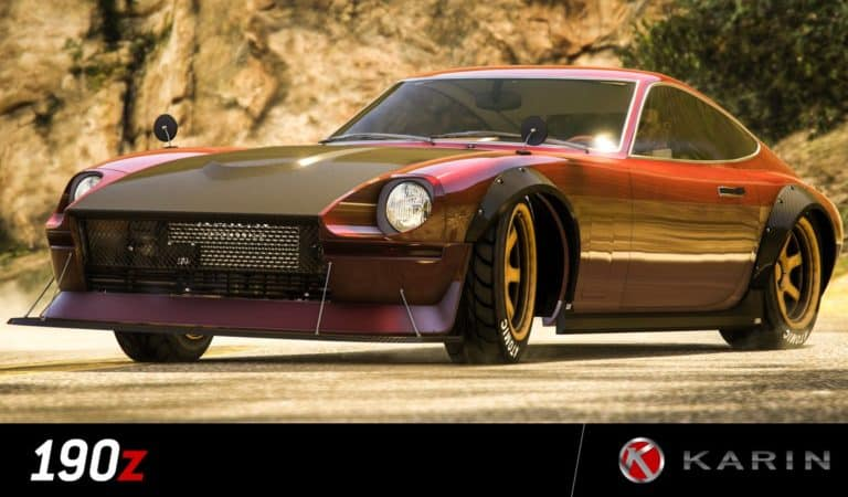 GTA Online's Newest Car, Karin 190z, Accompanied By Major Discounts