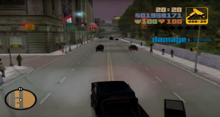 Using Cheats in GTA 3 for PC