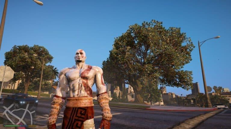 GTA 5 Meets God Of War - GTA BOOM