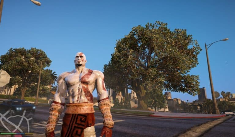 GTA 5 Meets God Of War