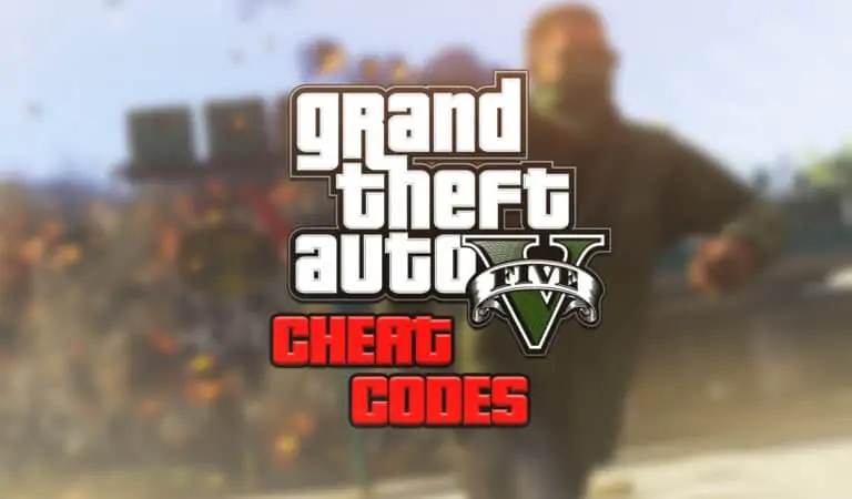 GTA 5 Cheat Codes
