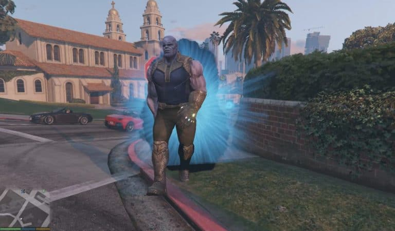 GTA 5 Meets Avengers: Infinity War's Thanos