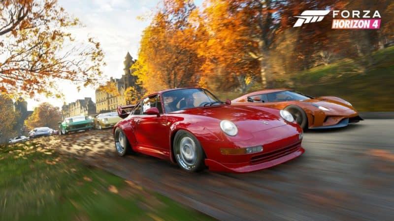 Forza Horizon 4 Meets GTA 5 - GTA BOOM