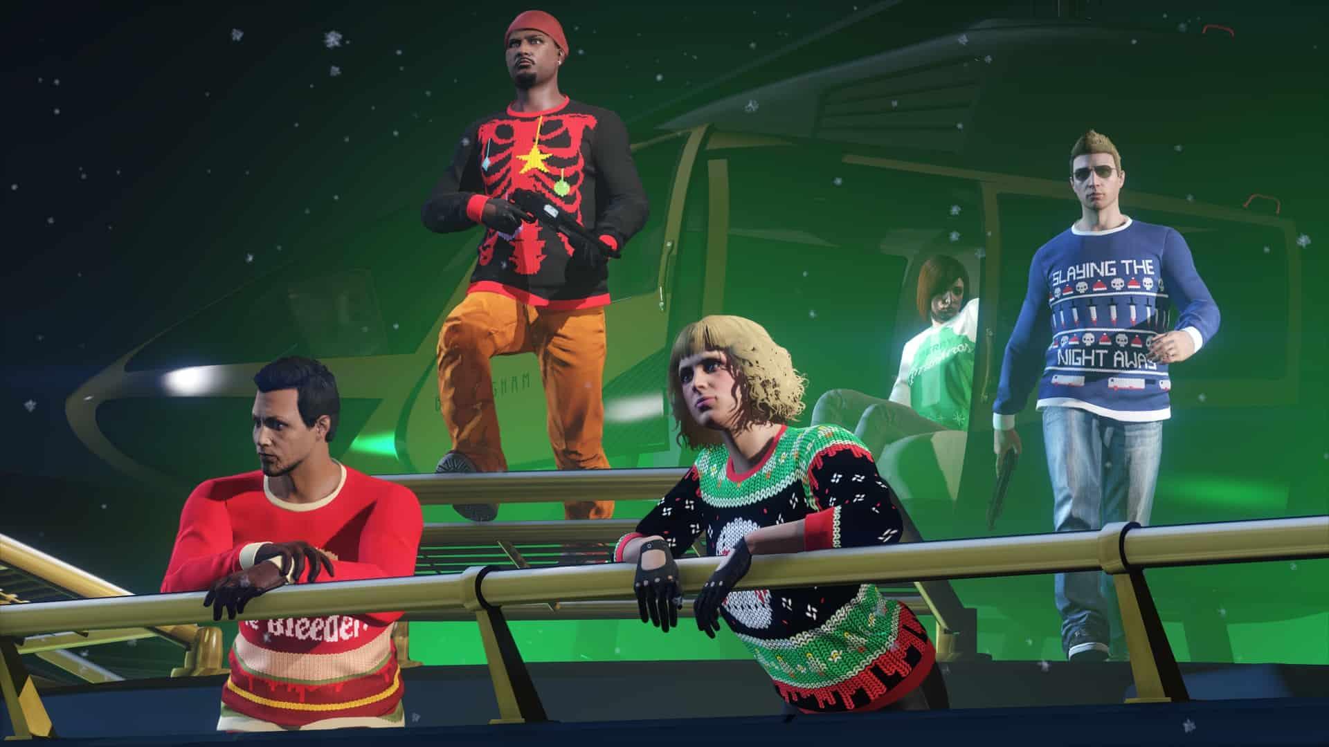 Festive Surprise Brings Holiday Cheer To GTA Online - GTA BOOM