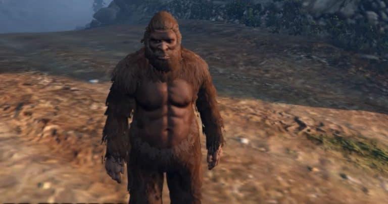 Sasquatch / Bigfoot Found In GTA 5 (100% Legit) - GTA BOOM