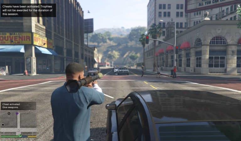 Grand Theft Auto 5 Cheats - GTA BOOM