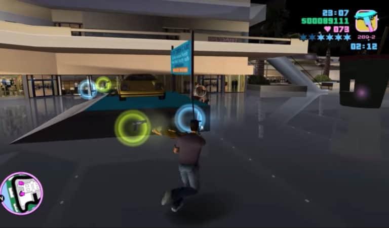 GTA Vice City PlayStation Cheats