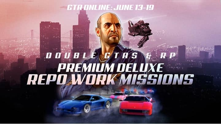 Earn Double With Repo Work In GTA Online This Week - GTA BOOM